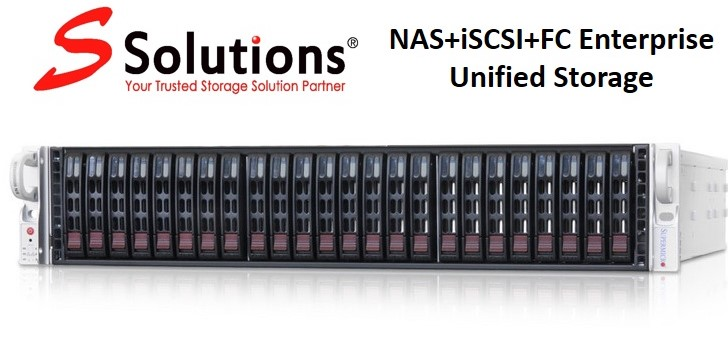 SRN2L24+FC- High Density Enterprise 2U 24-bay